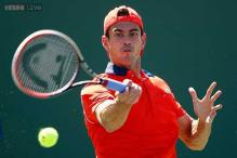 Guillermo Garcia-Lopez defeats Lorenzo Giustino at the Nastase Tiriac Trophy