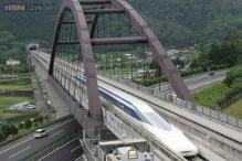 Japanese maglev train sets world speed record, clocks 603 kilometres per hour