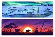 Google Celebrates Earth Day 2016 with 5 Different Doodles
