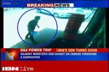 Caught on camera: Gujarat Minister's son thrashes a shopkeeper in Gandhinagar