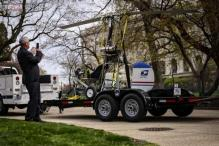 Small helicopter lands on US Capitol grounds, pilot arrested