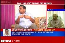 Khemka is an efficient officer, the transfer is a routine: Haryana CM