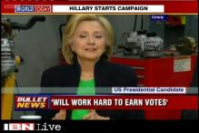 Hillary Clinton kickstarts campaign for 2016 US Presidential poll from community college in Iowa