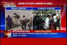 Watch: Inside Air India flight in Yemen evacuating stranded Indians