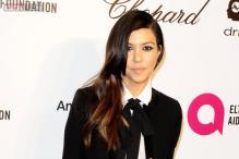 Kourtney Kardashian shares first image of her newborn