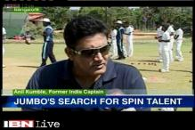 Anil Kumble on a jumbo mission to find a spin prodigy