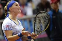 Fed Cup: Svetlana Kuznetsova gives Russia 1-0 lead over Germany
