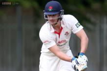 Lancashire batsman hits triple century in a one-dayer with 27 sixes