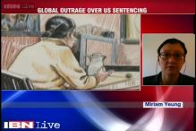 Global outrage over US sentencing