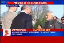 Watch: PM Modi receives ceremonial welcome by at Les Invalides in Paris