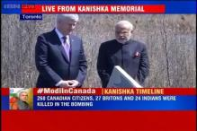 PM Modi, Harper pay tribute to crash victims at Kanishka memorial