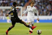 Luka Modric set to miss rest of La Liga season with knee injury