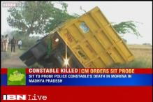 MP CM orders SIT probe into death of police constable killed by sand mafia