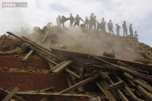 CCTV footage shows the moment the earthquake struck Nepal