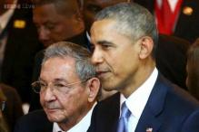 Obama, Castro shake hands as US, Cuba seek better ties