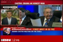 Barack Obama and Raul Castro meet, launch new era of US-Cuba ties