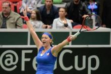 Czech Republic beat France 3-1 in Fed Cup semi-final