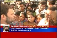 Maharashtra: Rahul Gandhi woos farmers, begins his 15 km padyatra against Land Bill in Amravati