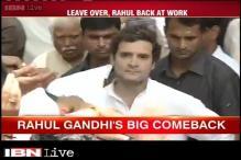 Rahul Gandhi meets farmers in Delhi
