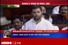 Rahul takes a dig at Modi's foreign trips, says PM is in India now, should meet farmers
