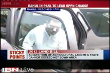 After 2 month sabbatical, Rahul Gandhi attends Parliament
