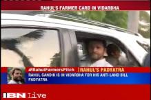 Maharashtra: Rahul Gandhi reaches out to farmers, to begin 15-km padyatra against Land Bill today