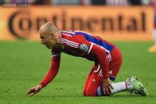 Arjen Robben to miss rest of Bayern Munich's season