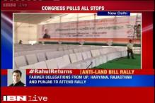 Preparations underway for Congress's Kisan rally, 1 lakh people expected to attend it