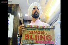 Akshay Kumar, Prabhudheva kick start 'Singh is Bliing' with a crystal studded clapboard