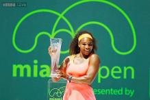 Dominant Serena Williams beats Carla Suarez Navarro to win Miami Open