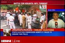 Violence reported across Kolkata during civic polls