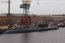 Russian atomic submarine catches fire in shipyard