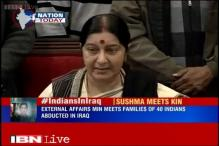 Evacuated Indian nationals under tough conditions from war-torn Yemen: Sushma Swaraj