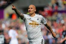Swansea draw 1-1 with Everton in Premier League