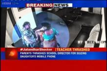 Watch: Mother thrashes Jalandhar school director after she seized her daughter's mobile