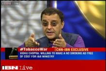 Anti-smoking warnings destroying films, hampering creativity, says Vidhu Vinod Chopra