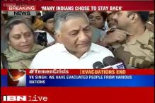 Have rescued more than 1,000 foreigners from war-torn Yemen: VK Singh