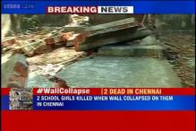 Two girl students dead, one injured in a wall collapse at a Chennai school