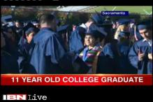 11-year-old Indian-American genius graduates from US college