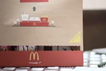 McDonald's invents new paperbag with a built-in tray