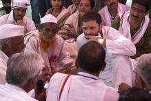 In pics: Rahul Gandhi's padyatra in Amravati district