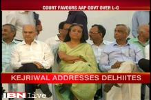 Delhi Chief Secretary returns, shares dais with Shakuntala Gamlin at AAP government's event