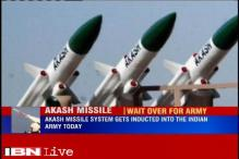 Surface-to-air short range Akash missile system to be inducted into Indian Army today