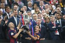 Messi leads Barcelona to King's Cup triumph against Athletic Bilbao