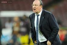 Napoli coach Rafael Benitez suspended, striker Gonzalo Higuain fined