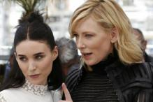 Blanchett denies lesbian affairs as 'Carol' film wows Cannes