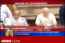 No decision taken on appointment of CIC, CVC