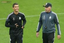 Real Madrid heavyweight Cristiano Ronaldo backs coach Carlo Ancelotti