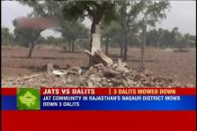 Rajasthan: 3 Dalits mowed down by tractors driven by Jat community