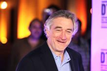 Just go with it, says Robert De Niro to new art graduates